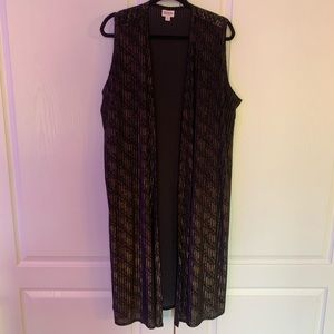 Elegant Black and Gold Joy from LuLaRoe